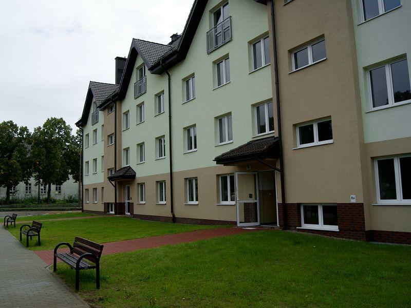 Blok komunalny w Pile, mieszkania - Marcin Maziarz