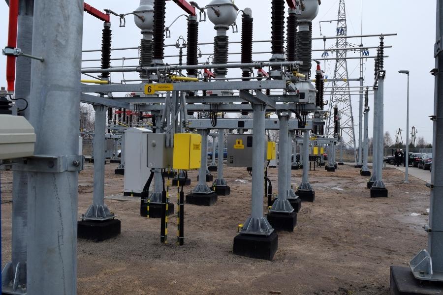 stacja energetyczna, Ujście, prąd, zasilanie, awaria - Marcin Maziarz