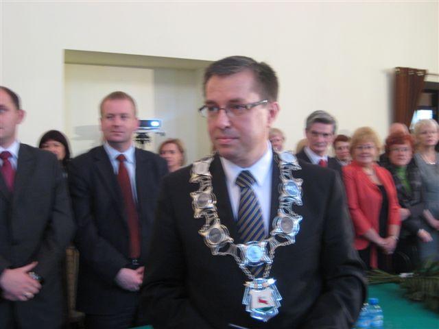 Piotr Głowski, prezydent Piły - Wiesława Pinkowska