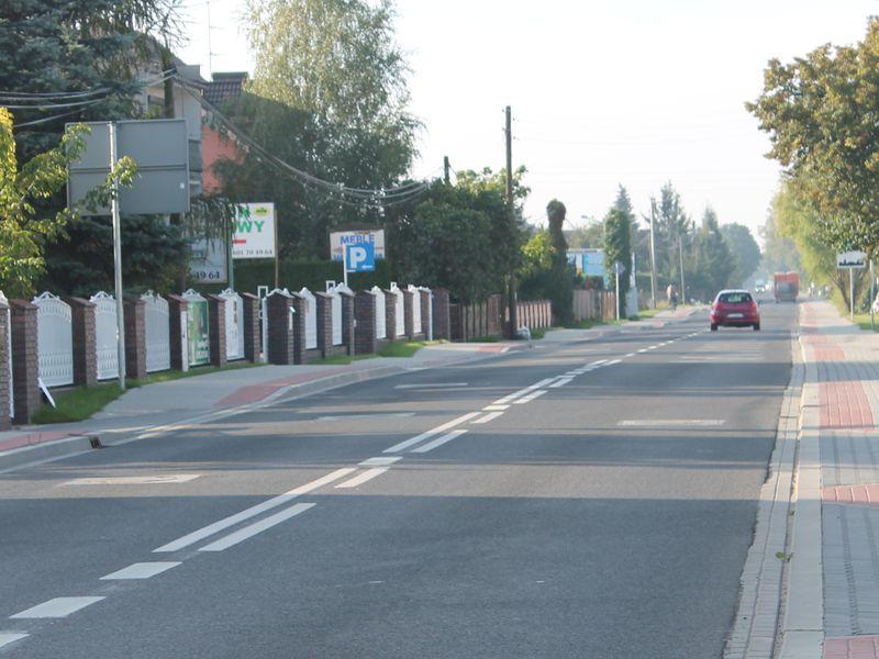 droga ulica swarzedz - WZDW.pl