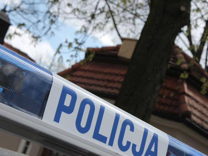 policja napis radiowóz interwencja patrol - Marcin Wesołowski