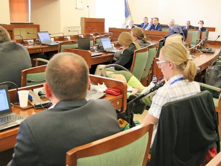 radni na sesji miasta - Marcin Wesołowski