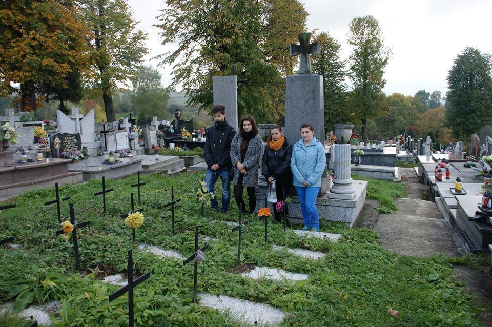 Małgorzata Terteka - Zapal znicz pamięci w Żywcu