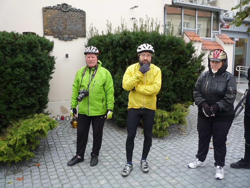 Jędrzej Cholewczyński - rajd rowerowy