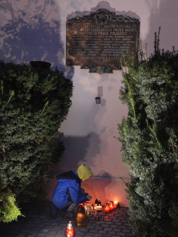 Na miejscu egzekucji w Kórniku