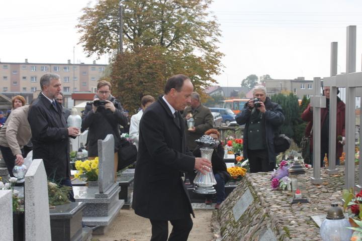 Zapal Znicz Pamięci 2015 w Książu Wielkopolskim