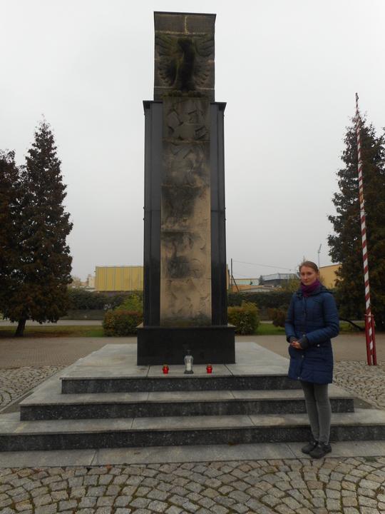 Ewelina Dąbrowska. Gimnazjum nr 8 w Grudziądzu