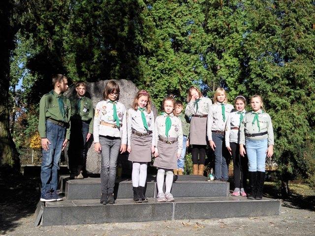 Drużyny Zwiadowcy i Szyszkowe Bractwo z Sosnowca