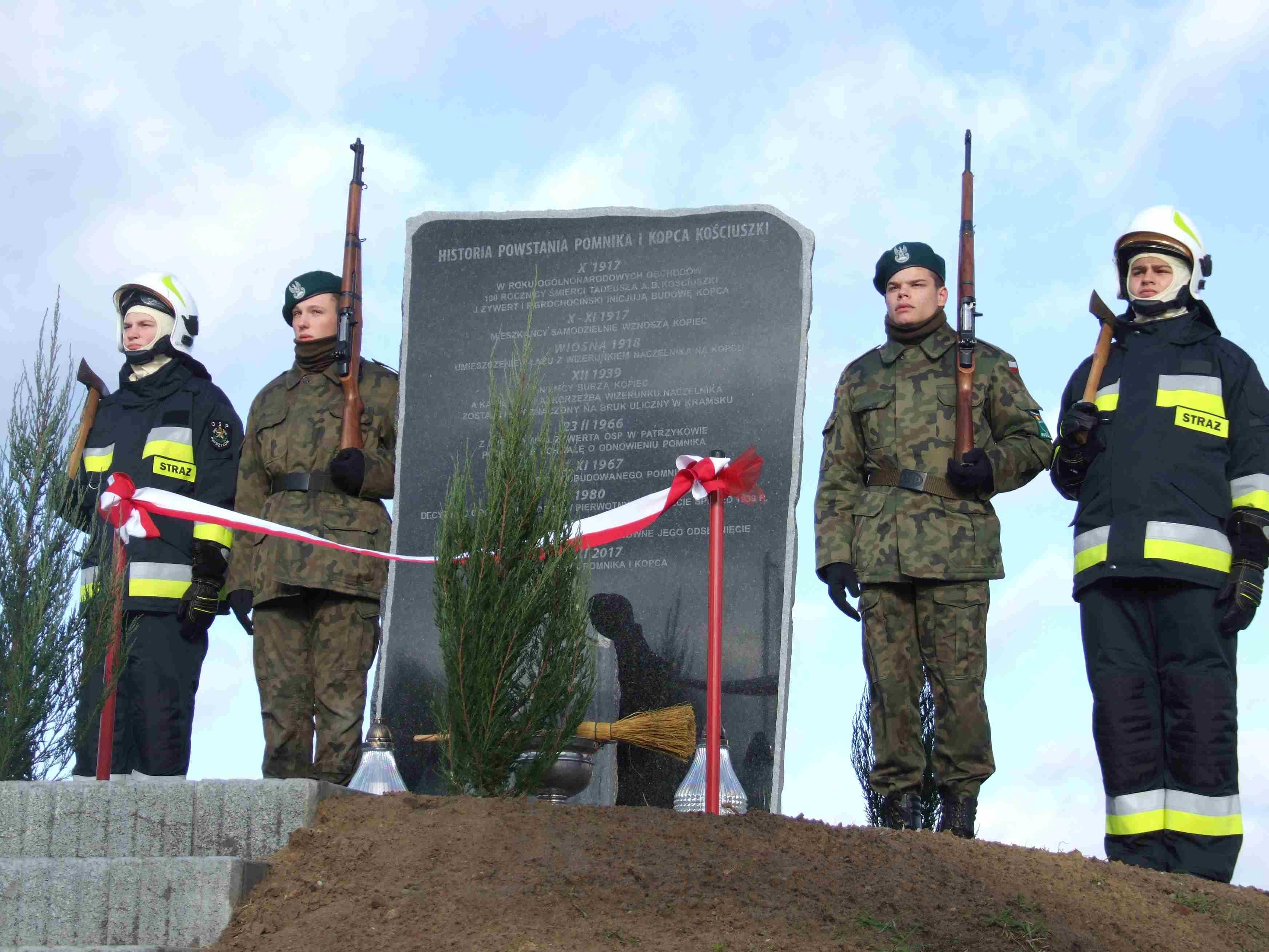 Święto Niepodległości przy Kopcu Kościuszki