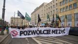 Biały Marsz na ulicach Poznania