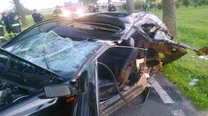 Zginął 18-letni kierowca