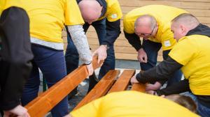 Wolontariat pracowniczy - integracja i pomaganie