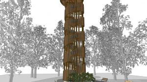 W Antoninku stanie wieża widokowa
