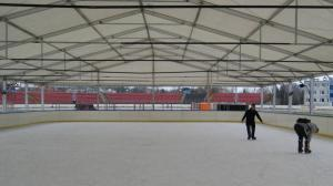 800 metrów lodu pod dachem