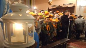 Betlejemskie Światło Pokoju w Koninie