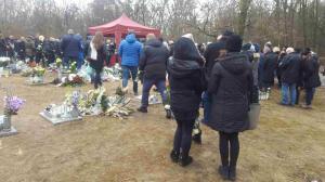 Pogrzeb ofiary wybuchu kamienicy