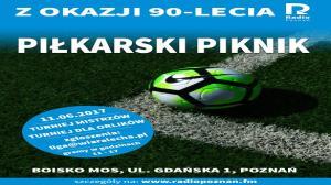 Piknik Piłkarski na Jubileusz Radia Poznań
