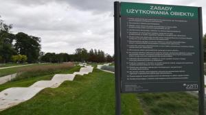 Czy tor rowerowy w wyremontowanym parku jest bezpieczny?