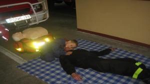 Najmłodszy strażak ochotnik!