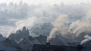 Powietrze bardzo zanieczyszczone