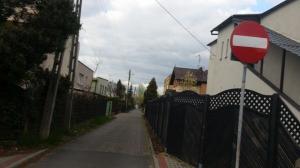Ulica Wschowska - wąska jak miedza