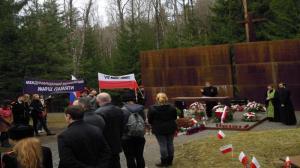 Marsz pamięci w Katyniu