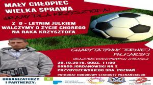 Charytatywny turniej w Poznaniu