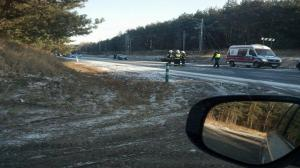 Tragiczny wypadek na trasie Poznań-Gniezno
