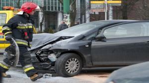 Wypadek na ul. Głogowskiej w Poznaniu