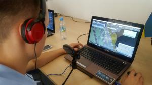 Wirtualne latanie na Ławicy