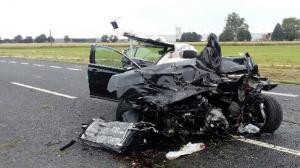 Trzy śmigłowce przyleciały na miejsce wypadku