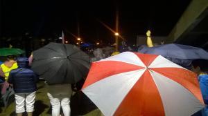 Demonstracja w Lesznie