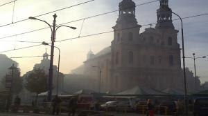 Powietrze bardzo zanieczyszczone!