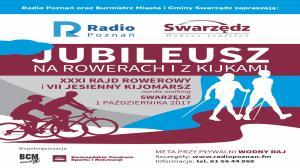 90 lat Radia Poznań. Rowery i nordic walking w Swarzędzu.