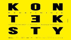 23-26 LISTOPADA, FESTIWAL TEATRALNY KONTEKSTY