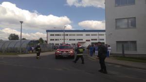 Wyciek amoniaku - akcja strażaków