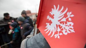Świętują zwycięstwo Powstania Wielkopolskiego