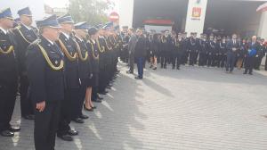 Minister wyróżnił strażaków