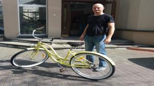 Rower z szafy 90x90!