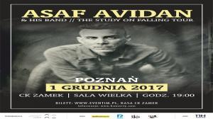 "1 GRUDNIA, KONCERT ""ASAF AVIDAN - THE STUDY ON FALLING TOUR"""