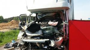 Zginął kierowca ciężarówki