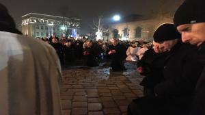 Droga krzyżowa w Gnieźnie. Wierni modlili się z prymasem Polski abp Wojciechem Polakiem