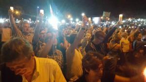 Protest w Parku Kasprowicza