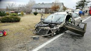 Wypadek koło Konina. Utrudnienia na trasie nr 25