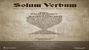 """""""Solum verbum"""". 500-lecie Reformacji w Bibliotece Raczyńskich"""