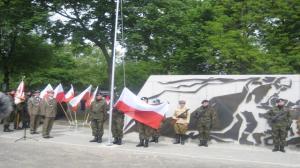 Pomnik II Armii WP odsłonięty