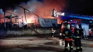 Wielki pożar w Gnieźnie