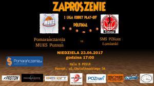 Pomarańczarnia MUKS Poznań w półfinale I ligi