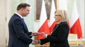 Julia Przyłębska p.o. prezesa Trybynału