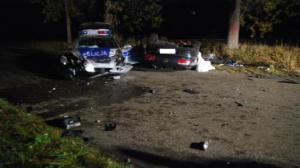 Kierowca uciekał przed policją. Zginął
